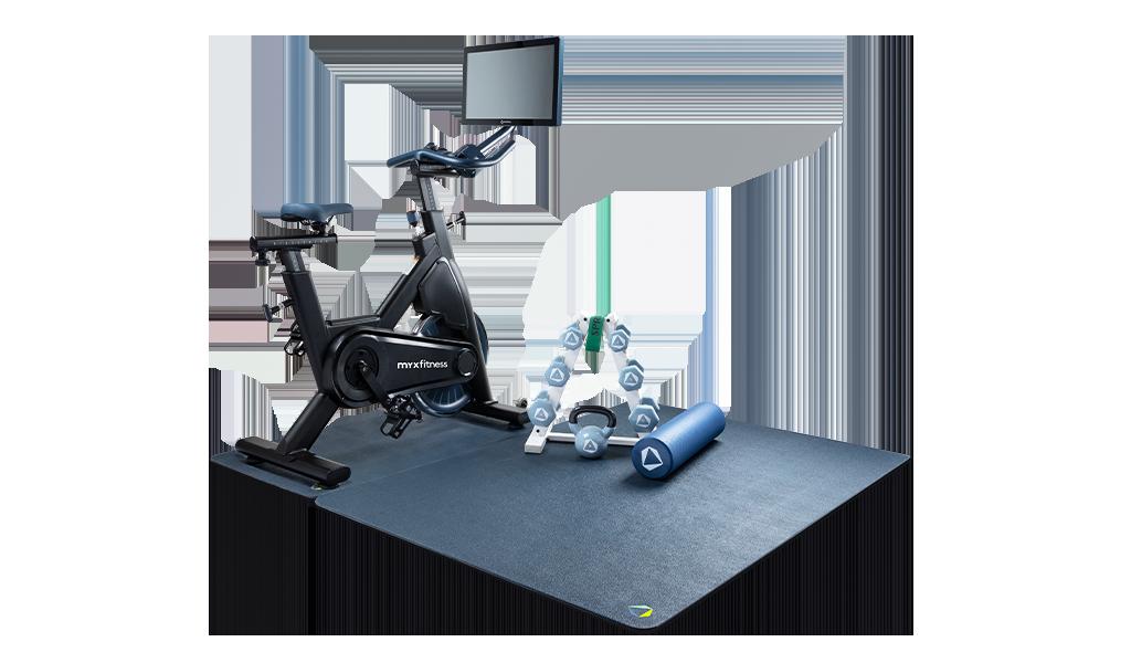 Myx Fitness home studio